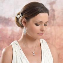 'Jewel' Statement Chandelier Earrings Modelling Shoot