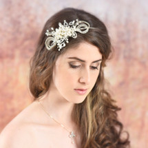 Misha Handmade Statement Side Headband Modelling Shoot
