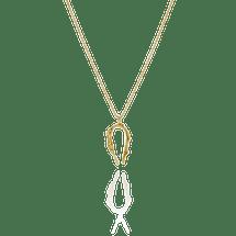 CYGNUS 18 gold vermeil silver swan necklace Necklace