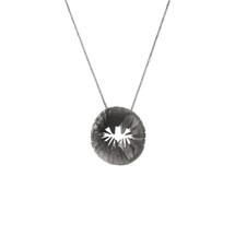 TUTTU Oxidised Silver Necklace