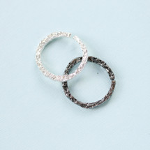 Tina Kotsoni - Sterling Silver or Oxidised Silver Ring
