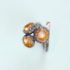 Cyttaro - Sterling Silver Statement Barnacles Ring