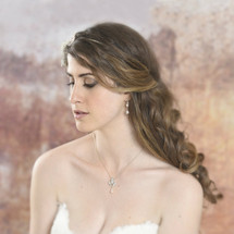 'Sookie' Handmade Bridal Necklace and Earring Set