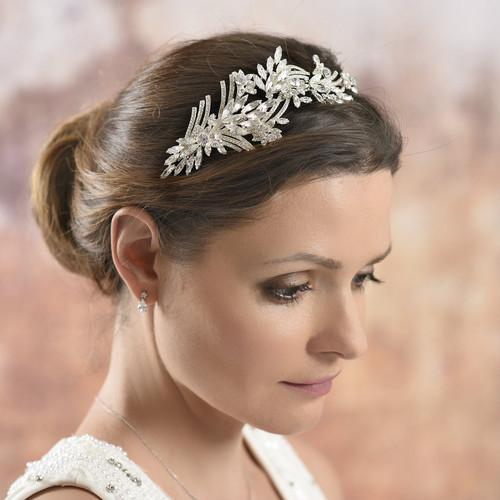Carlson Crystal Side Headband