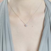 'Caprice' Circular Diamante Necklace