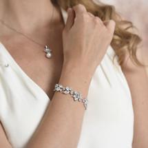 Velma Statement bridal bracelet
