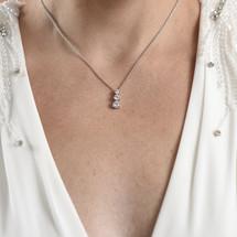 Gail Circular Diamante Necklace