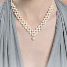 Juliet Traditional Pearl Necklace