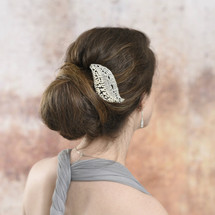 Shannie Handmade Art Deco Hair Comb