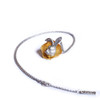 Shi_Kou_Er_Jiong_sterling_silver_rabbit_head_necklace_gold_plating