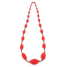 tzuri_gueta_red_silicone_necklace_handmade_chunky_statement