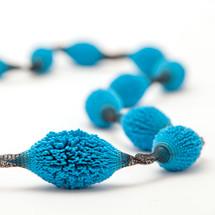tzuri_gueta_turquoise_necklace_statement_long_handmade_silicone