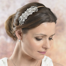 Mika art deco side headband