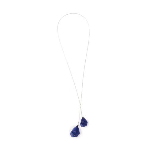 VLUM - Pendentif Délié Pendant Juniper royal blue  Long Necklace Pendant
