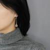 Botanic_Garden_collection_tulip_flower_clear_quartz_earrings_handmade_gold_plated_sterling_silver