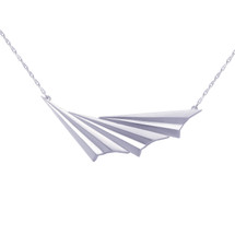 Alice_Barnes_sterling_silver_wave_pleated_asymmetric_art_deco_necklace_handmade_jewellery