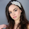 'Elsie' Lace Flower Side Headdress