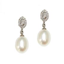 'Claudia' Bridal Pearl Earrings