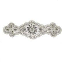 'Gwyneth' Art Deco Bridal Belt Applicate