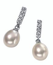 'Alessia' Freshwater Pearl Drop Earrings