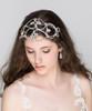 'Angelica' Large Heart Vintage Inspired Bridal Headband