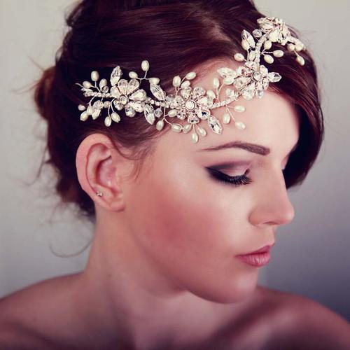 U0026#39;Addisonu0026#39; Daisy Flower Hair Vine