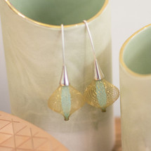 Boucles d'oreilles Volubiles Vert D'eau 4 Earrings
