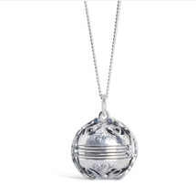 Original, memory keeper photo folded silver pendant locket from Lily Blanche stocked at Lily Luna