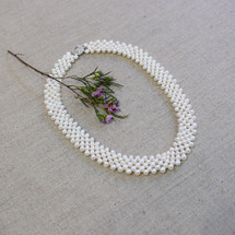 'Rory' Pearl Choker/Necklace