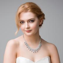 'Elva' Statement Bridal Necklace