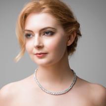 'Nala' Square Cut Necklace
