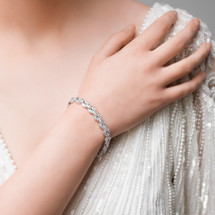 'Helga' Bridal Bracelet