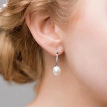 'IIiana' Freshwater Pearl Earrings