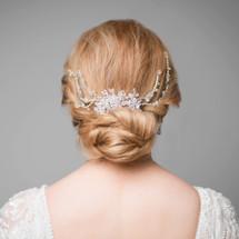 'Jamie' Dramatic Bridal Hair Comb