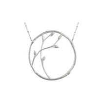 Catherine Weitzman - Recycled Sterling Silver Spring Branch Necklace