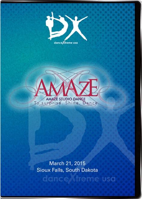 DX AMAZE Studio Dance Competition 2015 Build-a-disc