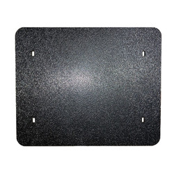 VINTAGE BLACK NUMBER PLATE