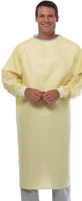 Reusable Isolation Gown (Yellow) - Pack of 6