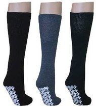 Diabetic Slipper Socks (6 Pairs, 3 Colors)