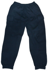 Cargo Sweatpants W/pockets (XL, Navy)