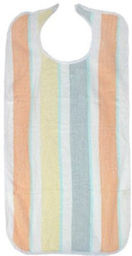 6 Multi-color Terry Clothing Protector Stripes Print