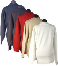 Men's Ron Chereskin 100% Acrylic Sweater - Pull Over (Medium, Red)