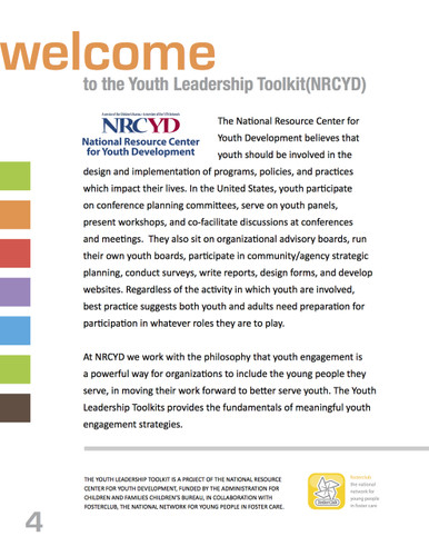 Youth Leadership Toolkit
