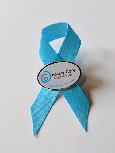 Decorative pic to show support of foster care during National Foster Care Month.