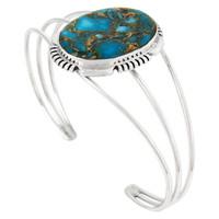 Sterling Silver Bracelet Turquoise B5531-C84