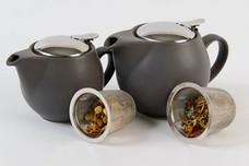 Ceramic Tea Pot - Sage