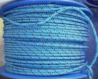 Rope 5mm Vectran low stretch - Blue (per metre)