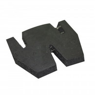 Laser centre board friction pad
