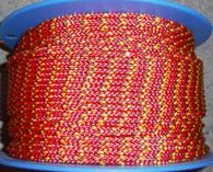Rope 5mm pre  stretch vectran - Red (per metre)