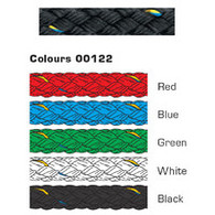 Rope 6mm Pre stretch - Black (per metre)